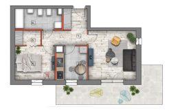 mieszkanie na sprzedaż lublin B4/B5 M59