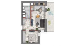 mieszkanie na sprzedaż lublin B4/B5 M61