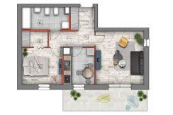 mieszkanie na sprzedaż lublin B4/B5 M62