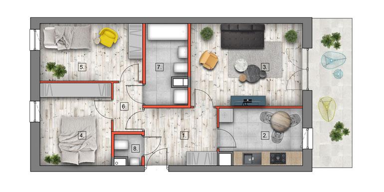 mieszkanie na sprzedaż lublin B4/B5 M64