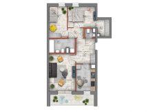 mieszkanie na sprzedaż lublin B4/B5 M67