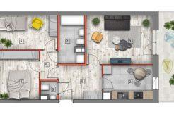 mieszkanie na sprzedaż lublin B4/B5 M68