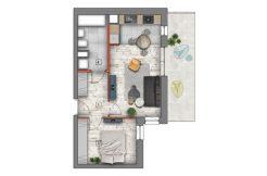 mieszkanie na sprzedaż lublin B4/B5 M69