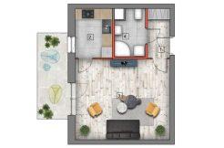 deweloperskie mieszkania lublin B4/B5 M7