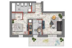 mieszkania lublin zemborzyce B4/B5 M70