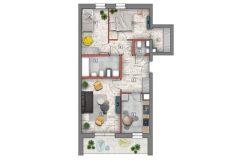 mieszkanie na sprzedaż lublin B4/B5 M71
