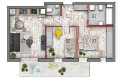 mieszkanie na sprzedaż lublin B4/B5 M73