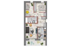 deweloperskie mieszkania lublin B4/B5 M74