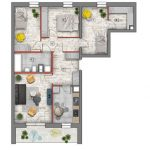 mieszkanie na sprzedaż lublin B4/B5 M77