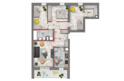 nowe mieszkania lublin B4/B5 M80