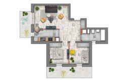 deweloperskie mieszkania lublin B4/B5 M83