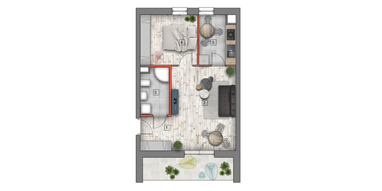 nowe mieszkania lublin B4/B5 M89