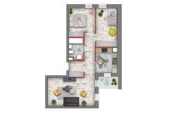 mieszkanie na sprzedaż lublin B4/B5 M9